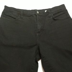 Not Your Daughters Jeans sz 12 black NYDJ (342)